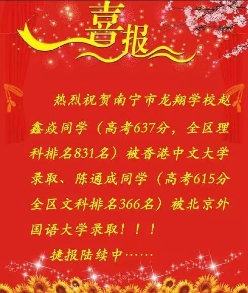美乐棋牌,50元提现的现金棋牌:高考喜报之一赵鑫焱同学被香港中文大学录取