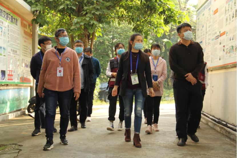 简讯:南宁市疾病预防控制中心领导莅临我校开展学校开学与疫情防控工作的检查(图文)