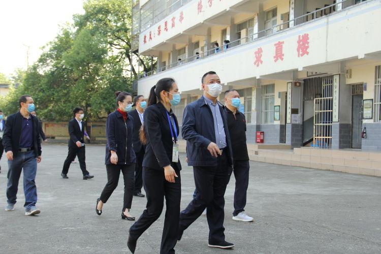 简讯:自治区纪委机关党委领导一行莅临我校调研学校疫情防控和复学上课情况(图文)